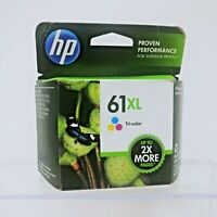 GENUINE HP 61XL TRICOLOR INK CARTRIDGE CH564WN, SEALED, DATE 12/14, BRAND NEW