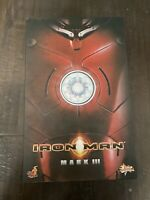 2009 Hot Toys Marvel Avengers IRON MAN MARK III / 3 MMS75 1/6 Figure