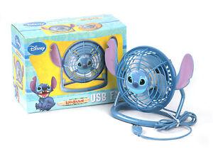 Disney Stitch Portable Desk Fan (USB Fan) - Hot Summer Special