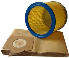 FILTER & DUST hoover BAGS for Lidl Parkside vacuum cleaner 1300, 1400, 1500