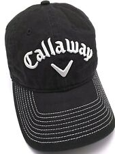 CALLAWAY GOLF black adjustable cap / hat - UPro, Odyssey
