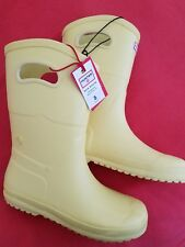 Hunter for Target Kids Waterproof Tall Rain Boots - Yellow Size 5, NEW w/Tag