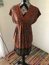 Xhilaration Size Small Empire Waist Print Casual Wear Dress