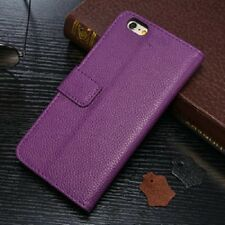 iPhone 6/6s Plus 5.5 Litchi Wallet Leather Case ,Purple