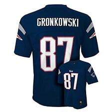 ROB GRONKOWSKI PATRIOTS TODDLER 2T NAVY MID TIER JERSEY