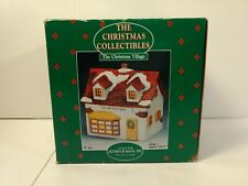 Seymour Mann Tea And Spice Shop Lighted Christmas Village Building ch909
