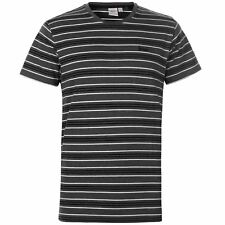 New Mens Lee Cooper Short Sleeves Striped  Crew Neck T Shirt Top Size M-2XL