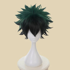 Green Wig My Hero Academia Deku Izuku Midoriya Short Hair Cosplay Party Supplies