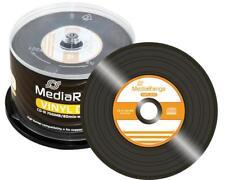 50 MediaRange Rohlinge vinyl black CD-R 52x