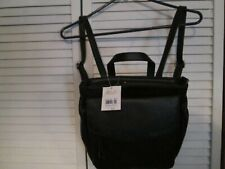 New Relic by Fossil Brianna Backpack Satchel Purse Handbag  - Black