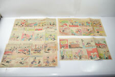 Walt Disney Donald Canard Journal 5 Comic Rayure´S De 1960 Moitié Pages (WR3) -
