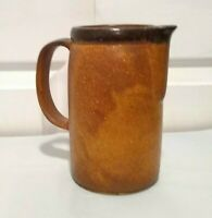 "Vintage McCoy Pottery CANYON MESA 1429 Milk Pitcher 7"" Tall 5 Cup USA"