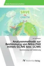 Analysenmethode zur Bestimmung von Nitro-PAH mittels GC/MS bzw. LC/MS Optim 3085