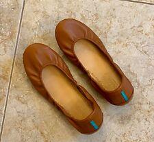 Tieks by Gavrieli Leather Ballet Flats Size 9 Chestnut Brown- EUC! Great deal🤎