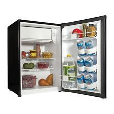 Haier 2.7 cu ft Refrigerator Small Fridge With Freezer Black