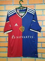 Basel 1893 Jersey 2014 2015 Home Kids Boys 15-16 Shirt Adidas F80923
