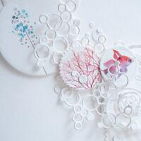 Circle Metal Cutting Dies Stencil for DIY Scrapbooking Craft Paper Card DecorTFS