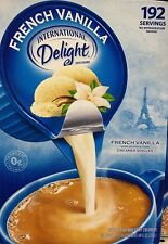 International Delight Coffee Creamer FRENCH VANILLA, 192 Single Serve