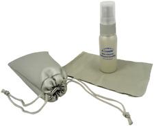 Lens Cleaner Cleaning Kit Spray Eyeglasses Sunglass Cloth Purse Travel 1oz 30ml