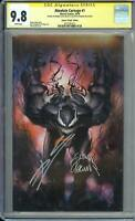 Absolute Carnage #1 CGC SS 9.8 Granov Virgin Signed by Cates & Stegman