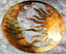 The Moon, the Sun and the Stars Metal Wall Art--Genesis Series 22""