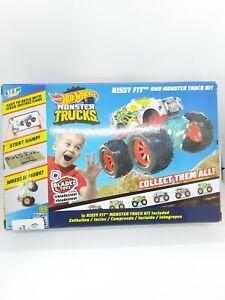 Hot Wheels Monster Truck Gift Gmae Cars  Maker Kitz Hissy Fit Make It Race New