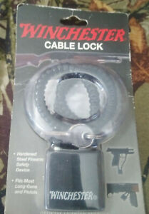 New Winchester Cable Gun Lock  Pistol Shotgun Riffle
