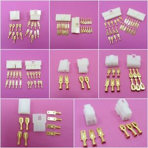 6.3mm Pin Way Electrical Multi Connector Plug Kits Motorcycle Scooter Car