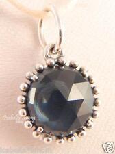 MIDNIGHT STAR Authentic PANDORA Silver DARK BLUE CRYSTAL STONE Pendant/Charm NEW
