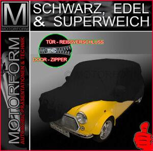 Austin Mini Cooper Indoor Ganzgarage Car Cover Schutzhülle SCHWARZ WEICH EDEL