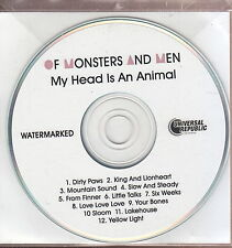 of monsters and men my head is an animal cd limited edition