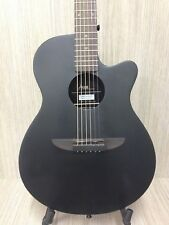 Haze 836CMBK Round-Back Acoustic Guitar,Black Satin+Padded Bag+Accessory Pack!