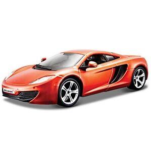 McLaren 12C in Orange, Bburago 21074, Scale 1:24, car gift boy