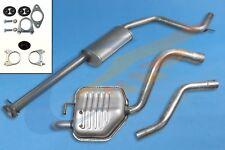 Schalldämpferset + Montagesatz FORD MONDEO 3 III 2.0 2.2 TDCi Kombi 2001-2007