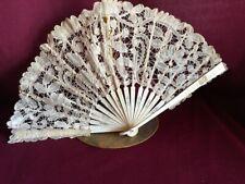 Lace antique hand fan