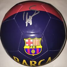 DAVID VILLA SIGNED SIZE 5 NIKE BARCELONA SOCCER BALL W/ PROOF SPAIN NYCFC