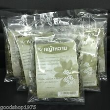 Stevia 5 Packs Herb Dried Leaf Tea Natural Sweet Sugar Substitutes Free Shipping