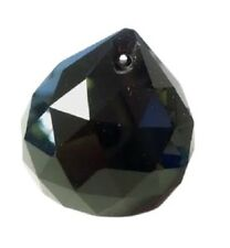30mm Black Ball Chandelier Crystals Prism Feng Shui