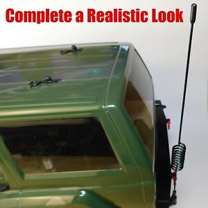 RC Antenna Crawler, Truck 1/10th Scale 190mm Traxxas TRX4, Axial SCX10 and more