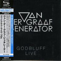 VAN DER GRAAF GENERATOR-GODBLUFF LIVE-JAPAN MINI LP SHM-CD BONUS TRACK F83