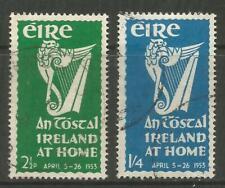 "STAMPS-IRELAND. 1953. ""An Tostal"" Festival Set. SG: 154/55. Fine Used."