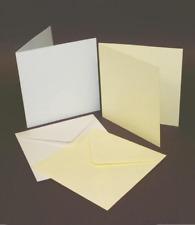 """6"""" X 6"""" Card Blanks & Envelopes - WHITE (50)"""