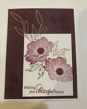 Card Kit Set Of 4 Stampin Up Flowers Leaves Any Occasion