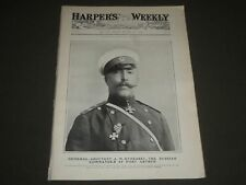 1904 DECEMBER 17 HARPER'S WEEKLY MAGAZINE - GENERAL ANATOLY STESSEL- H 958