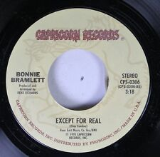 Rock 45 Bonnie Bramlett - Except For Real / I'Ve Just Seen A Face On Capricorn R