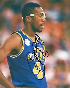 Thurl Bailey Utah Jazz Signed Autographed 8x10 Photo COA