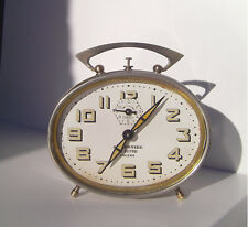 Vintage - Mechanical - Japy (Freres) - Metal - Alarm Clock - 30's to 50's
