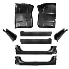 73-87 KIT Chevy Blazer Extended Floor Pan X-Rocker Inner & Support, Suburban GMC