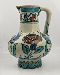 Delft Iznik Ottoman Style Jug c1900-1920 Royal Delft (De Porceleyne Fles) Dutch