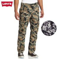 Levis Men's Relaxed Fit Camouflage Cargo I Pants